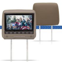Monitor Encosto Cabeça Pra Carro 7 Lcd Touchscreen Escravo