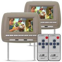 Par Tela Encosto Banco Bege Lcd 7 Sur Vision Kit C/ Controle