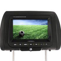 Dvd Player Tela Encosto De Cabeça 7 Lcd Com Game E Controle