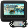 Encosto Cabeca Carro Portatil Dvd Usb Game Caska Smartfit