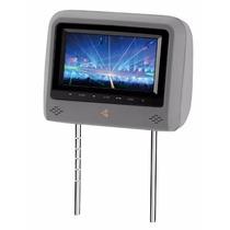 Encosto De Cabeça Tela Lcd 7 Touch Com Dvd Cinza 710zd Kx3