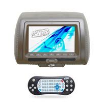 Encosto De Cabeça Leitor Dvd Sony Tela 7 Pol Cinza H Tech