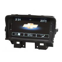 Central Multimidia Cruze Gps Tv 3g Cam Ré Controles Ar Cond