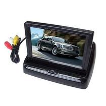 A Monitor Veicular 4,3 Dual Vídeo Lcd 4.3 Camera Ré Dvd Ps3.