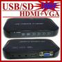 Usb Full Hd 1080p Hdd Media Player Hdmi Mkv Vga H.264 Sd