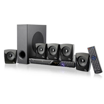 Dvd Player Com Karaokê E Home Theater 5.1 Usb Subwoofer Mp3