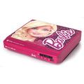 Aparelho De Dvd Barbie Compacto Multi-funcoes Tec Toy