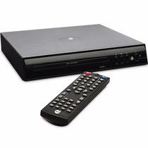 Dvd Player Entrada Usb Até 8gb Cd Preto 65948 Dazz Biv