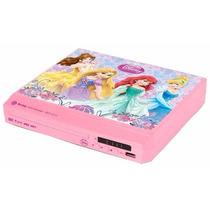 Dvd Player Compact Princesas Menina Rosa C111 Tectoy Usb