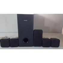 Caixas Pra Home Theater Philips 5.1 300 W Completo