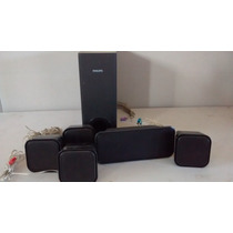 Caixas Pra Home Theater Philips 5.1 Completo