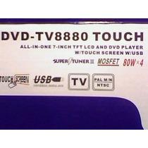 Dvd P/ Carro Tv Napoli 8880 Tela De 7¨ Touch Screen