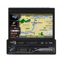Dvd Player Retratil Napoli Gps Dvd-tv 9009 (defeito Fonte)