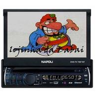 Dvd Retrátil Bluetooth Napoli