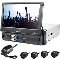 Dvd Multilaser Retrátil C/ Gps Tv Digital Camera E Sensor Ré