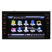 Dvd Multimídia 2 Din Aikon 6150 Tv Digital Gps Bluetooth