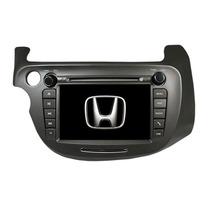 Kit Central Multimídia Fit Honda Fit Dvd Tv Gps Fit Honda