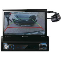 Dvd Player Pioneer Retratil Bluetooth + Tv Digital + Camera