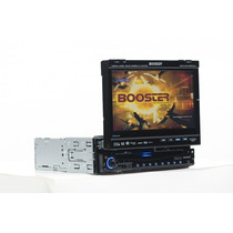 Multimidia Dvd Automotivo C/ Tela Retrátil 7 Polegadas Tv Fm