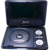 Dvd Portatil 7.8tv-usb-sd-jogos Tela Giratoria 270° Fm Radio
