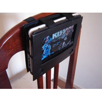 Dvd Portátil C/ Tv- 200 Jogos - Bolsa P/ Fixar No Encosto