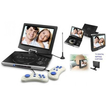 Dvd Portatil Powerpack 1063 Tv Digital +games 10.5 Polegadas