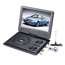 Dvd Portatil Tv 7 Tela ((( Led ))) Gira 270º Sd Usb Fm Jogos