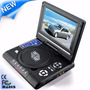 Dvd Portatil Evd Lcd 7.8 Com Jogos Usb + Sd + Tv + Radio Fm