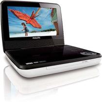 Dvd Player Portátil Com Tela 7 Mp3 Cd Usb - Philips Pd7030