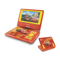 Dvd Portatil Infantil Disney Cars