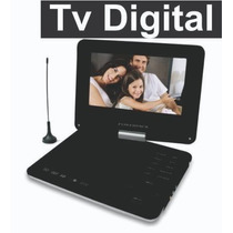Dvd Portatil Tv Digital Powerpack 9 Gir. Game Suporte Banco