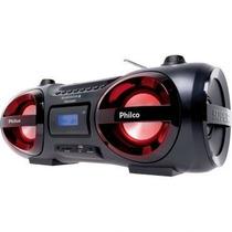 Som Boombox Muito Forte! 100w Bluetooth Usb Cd Sd Mp3 Philco