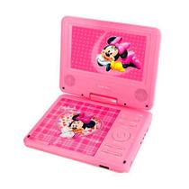 Dvd Portatil Dotcom Disney Infantil Minie Rosa