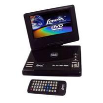 Dvd Lenoxx Player Portátil C/ Tela 7 Dt-505