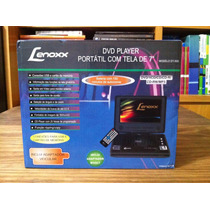Dvd Player Portátil Lenoxx Dt-505 - Tela De 7 - Novo/lacrado