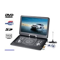 Dvd Portátil Bak Tela 15 Lcd Usb Fm Divx Tv Mp3 Com Games