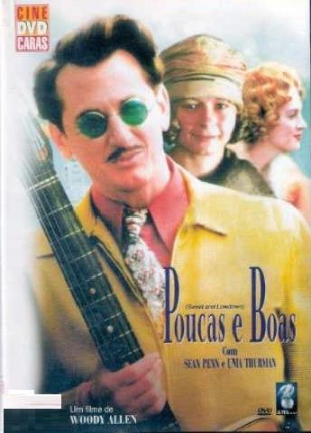 Dvd - Poucas E Boas -woody Allen & Sean Penn - Original Raro