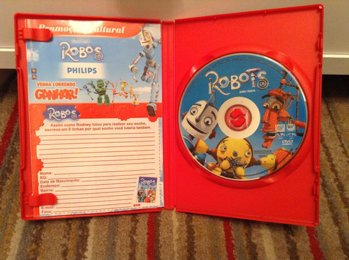 Dvd Robôs