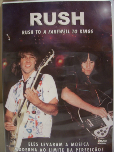 Dvd - Rush - Rush To A Farewell To Kings