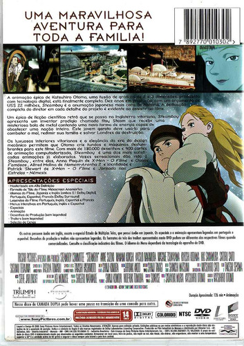 Dvd Steamboy - Anime - Oferta!!