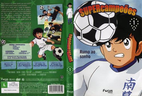 Dvd Super Campeões - Volume 1