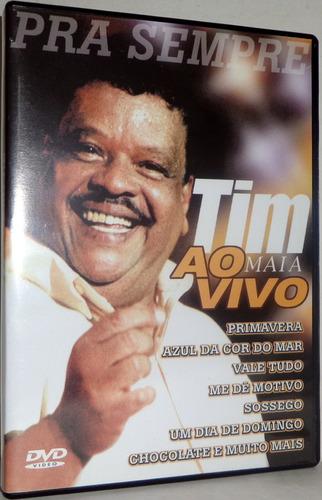 Dvd Tim Maia - Pra Sempre Ao Vivo