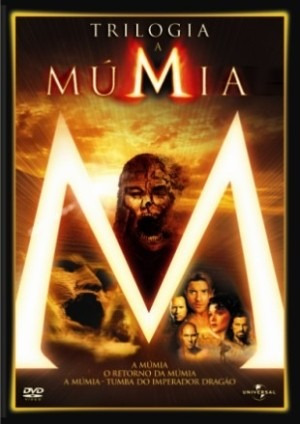 Dvd Trilogia A Mumia
