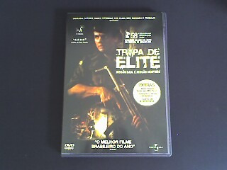 Dvd Tropa De Elite