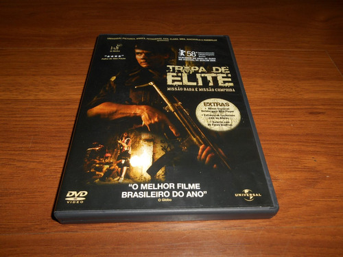 Dvd - Tropa De Elite