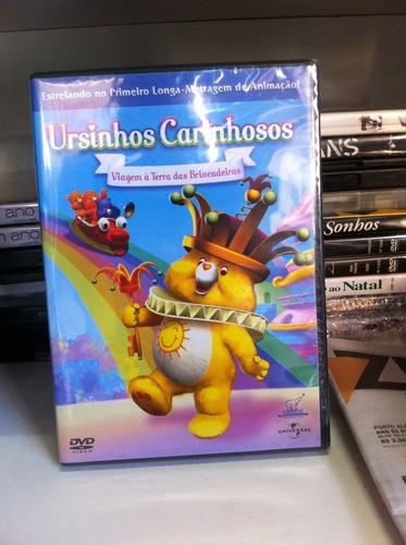 Dvd Ursinhos Carinhosos - Viagem À Terra Das Brincadeiras