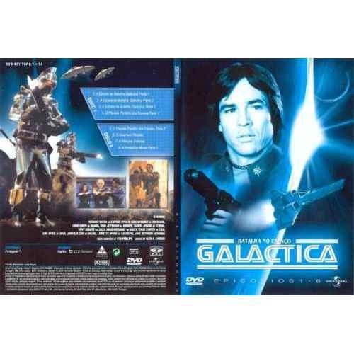 Dvds Battlestar Galactica 1980 E 1978 Leg.pt. Frete Grátis