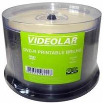 50 Dvd-r Videolar Print Com Brilho ( Consulte Frete)