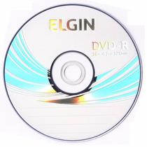 Mídia Virgem Dvd Elgin 10 Unidades