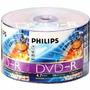 100 Dvd-r Philips 16x Logo ( Consulte Frete )